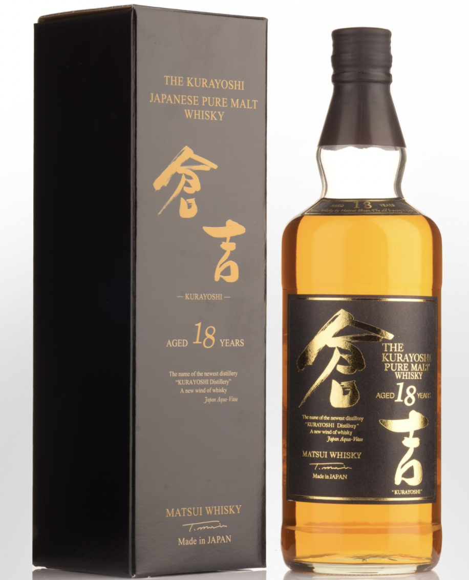 "Matusi Distillery ""The Kurayoshi  18 Year"" Malt Whiskey (Japan)"