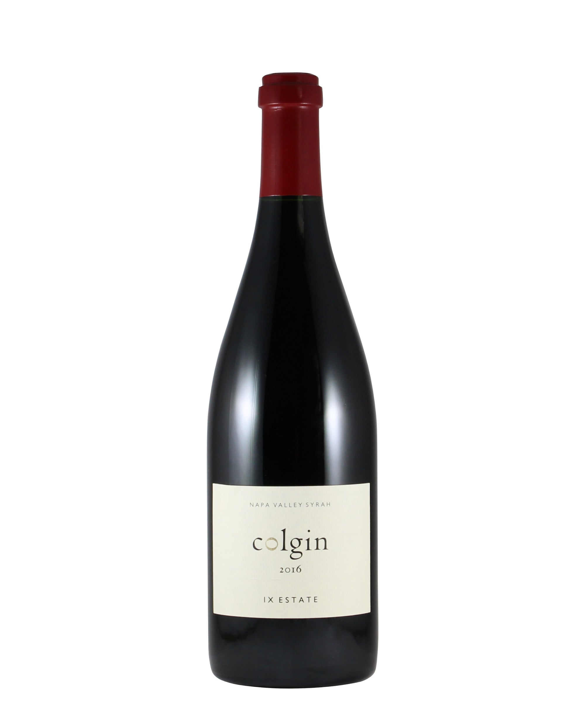 *9R* 2016 Colgin Cellars IX Estate Syrah (Napa Valley, CA)