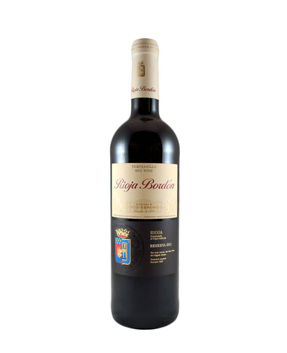 *6R* 2012 Rioja Bordon Reserva (Rioja, SP)