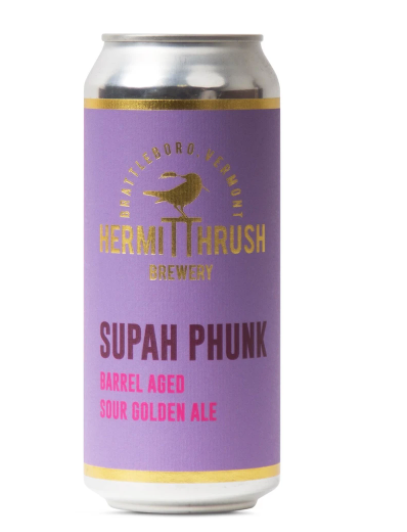 "Hermit Thrush ""Supah Phunk"" Barrel Aged Sour Golden Ale (Vermont)"