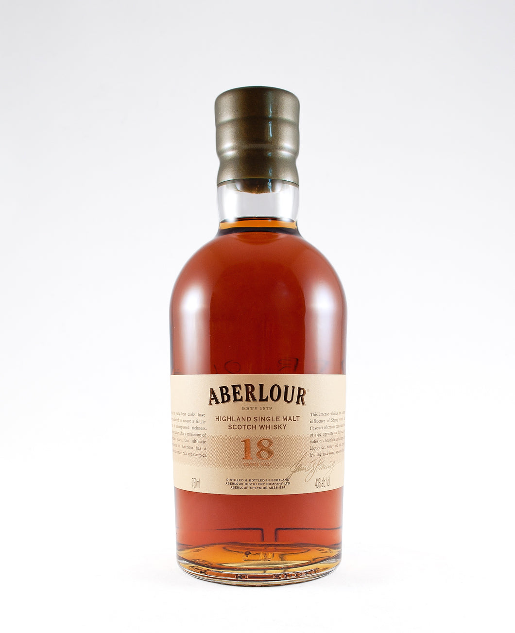 Aberlour 18 Year Old Highland Single Malt Scotch Whisky (Highland, Scotland)