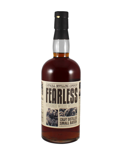 "Catskill Distilling Co. ""Fearless"" Straight Wheat Whiskey (Bethel, New York)"