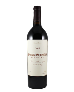 *7R* 1999 Spring Mountain Vineyard Reserve Cabernet Sauvignon (Napa Valley, CA)
