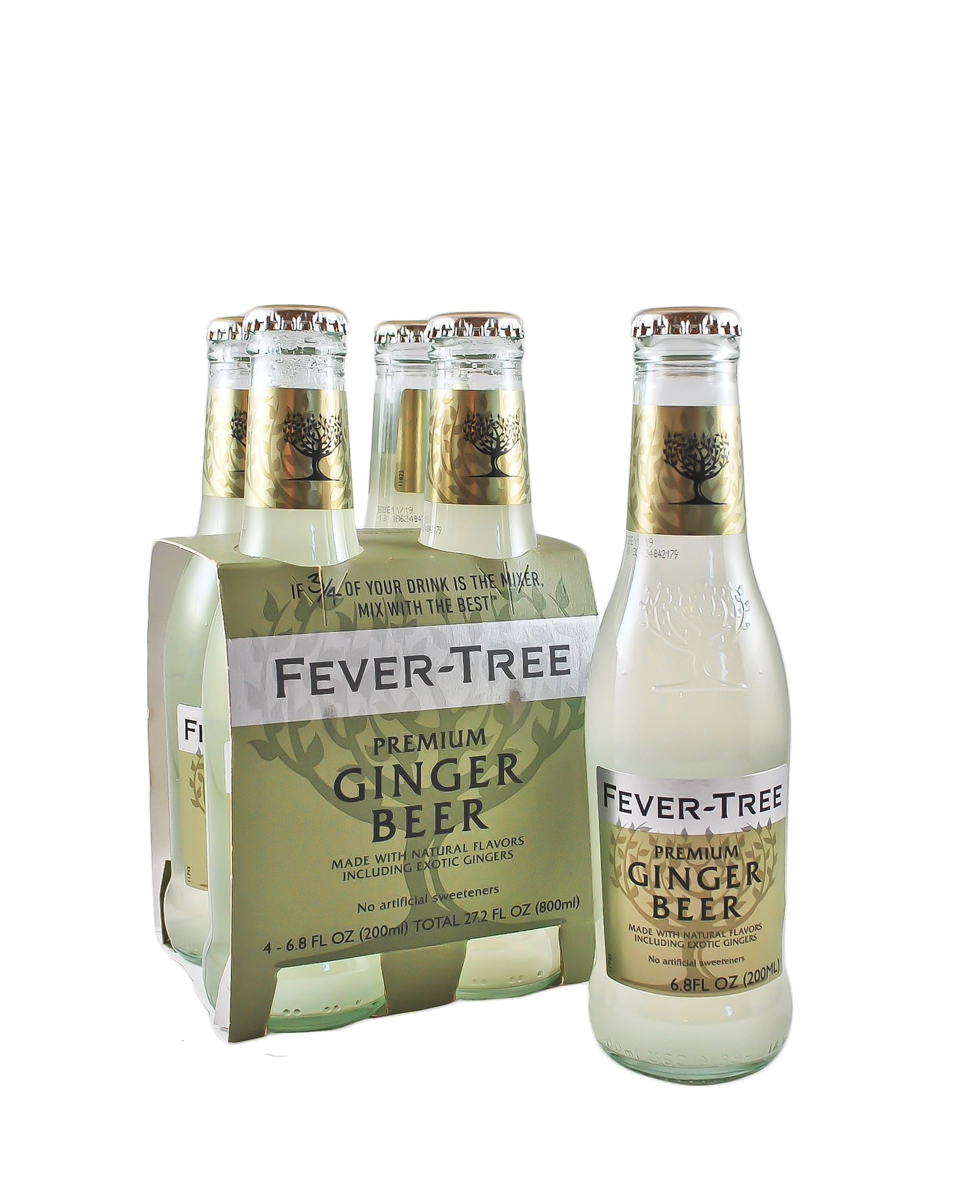 Fever Tree Ginger Beer 200ml 4 PACK