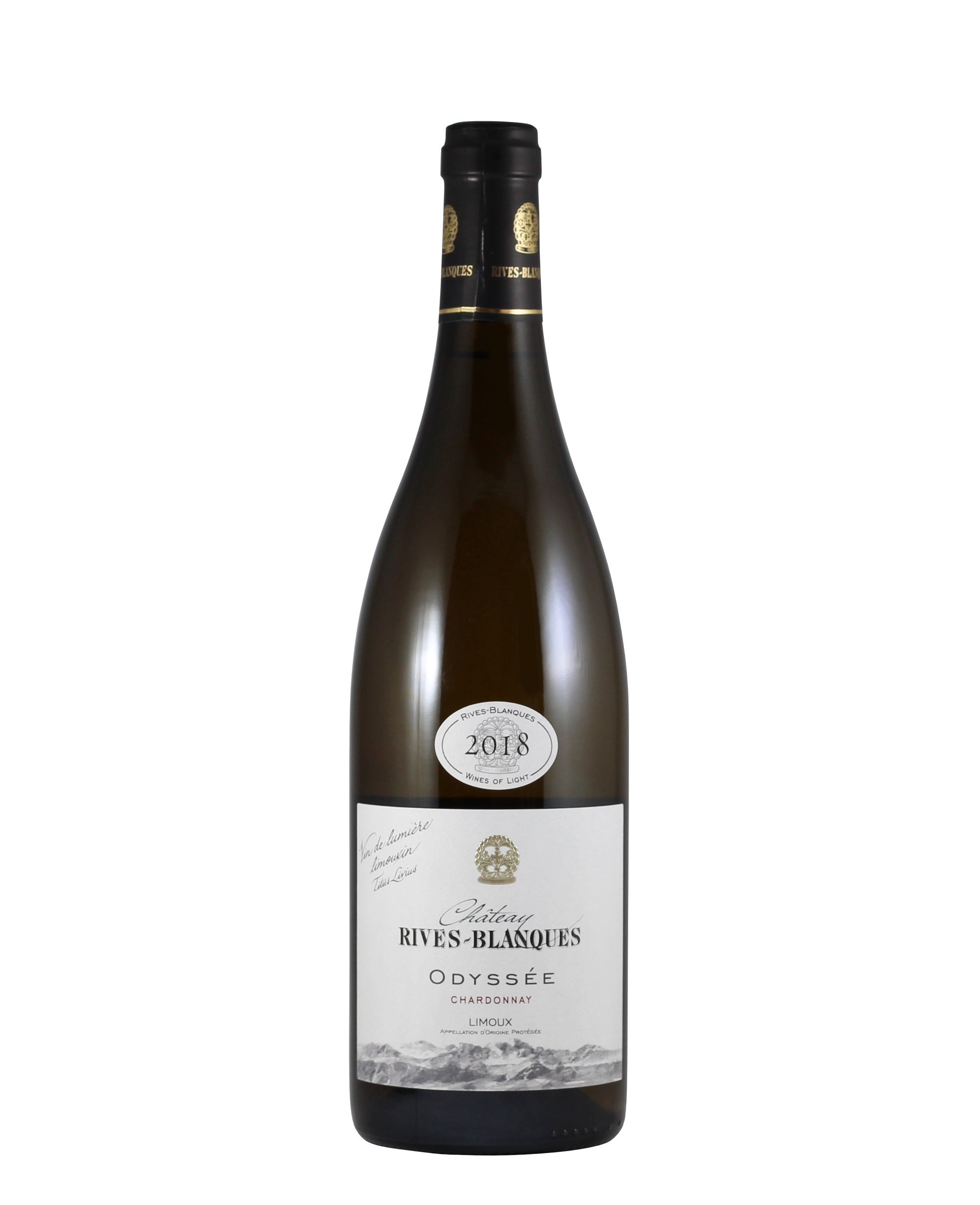 "*9W* 2018 Rives-Blanques ""Odyssee"" Chardonnay Limoux (Languedoc-Roussillon, FR)"