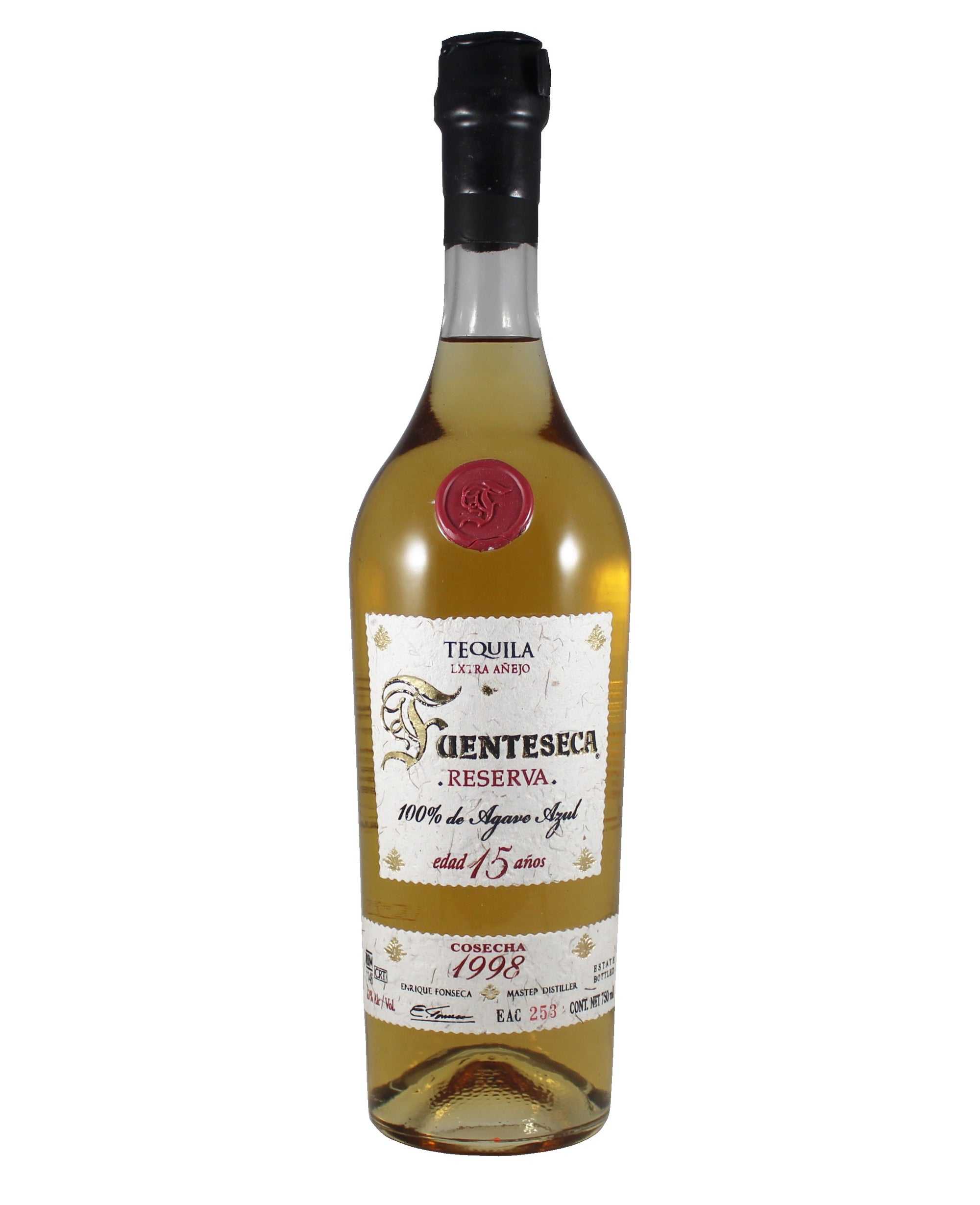 1998 Fuenteseca Reserve Anejo 15 Year Tequila (Jalisco, MX)