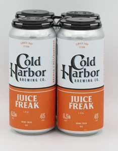 "Cold Harbor Brewing Co ""Juice Freak"" IPA (Westborough, MA)"