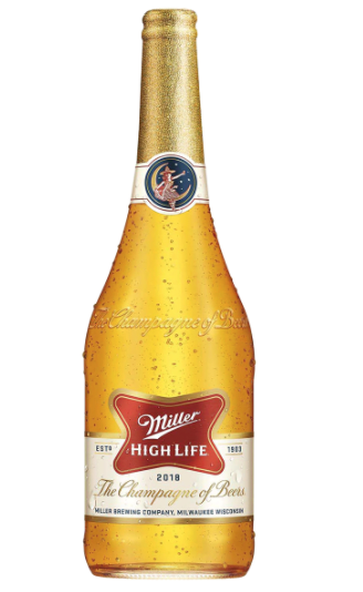 "2020 Miller High Life ""The Champagne of Beers"" Lager (Milwaukee, Wisconsin)"