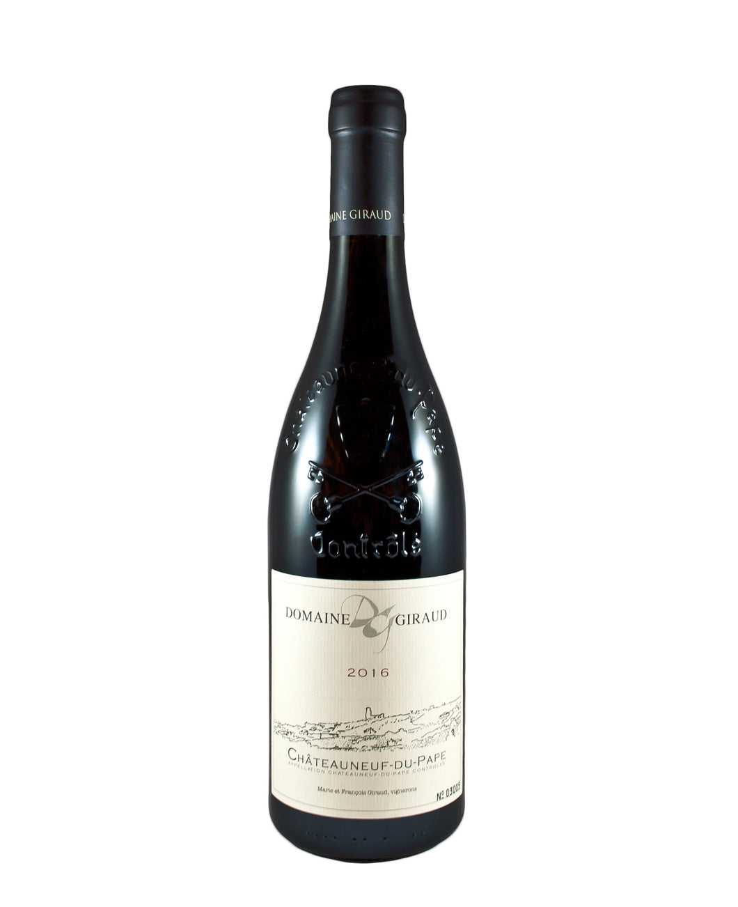 *6R* 2016 Domaine Giraud Chateauneuf du Pape (Rhone Valley, FR)