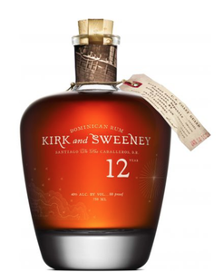 Kirk and Sweeney 12 Year Rum (Dominican Republic)