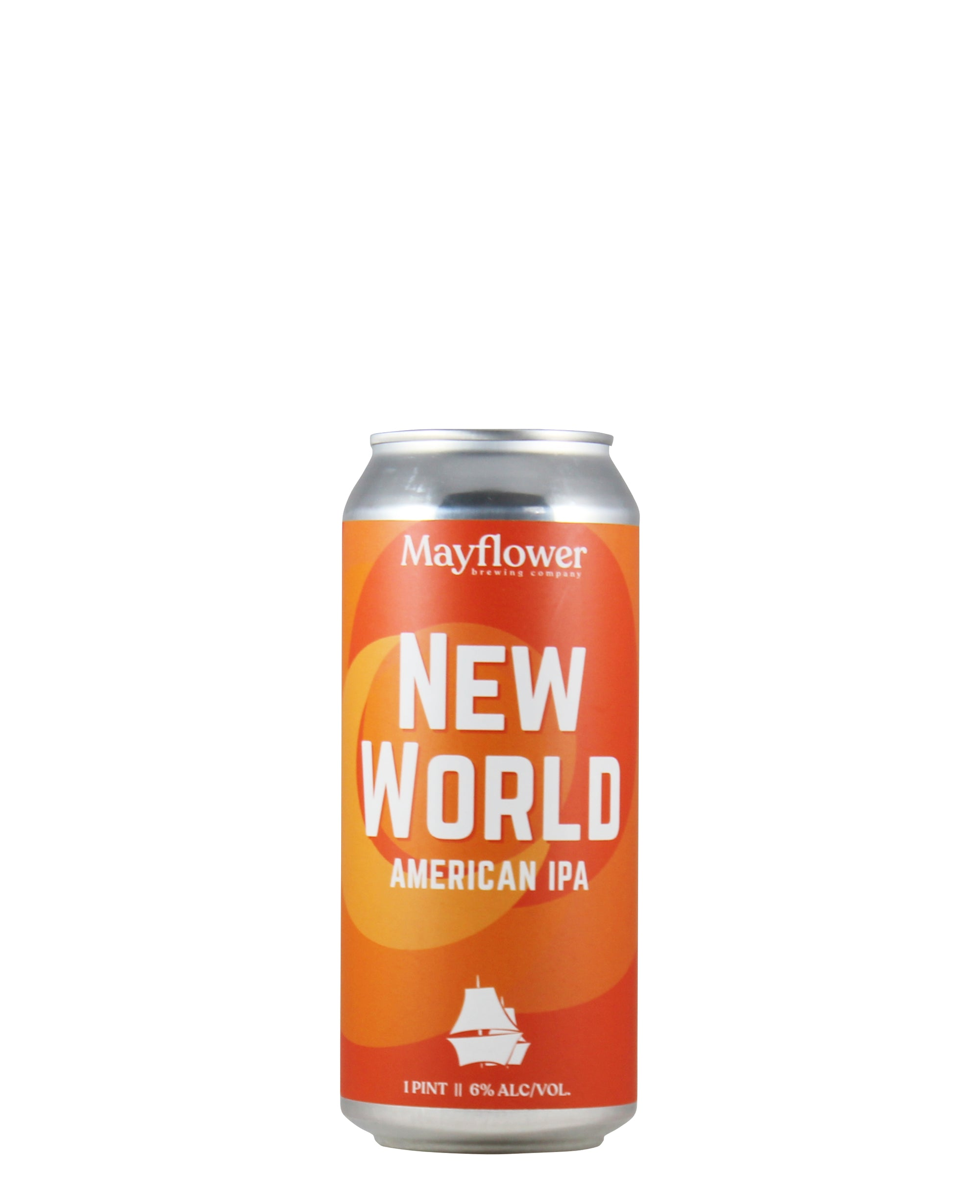 "Mayflower Brewing Co ""New World"" American IPA (Plymouth, MA)"