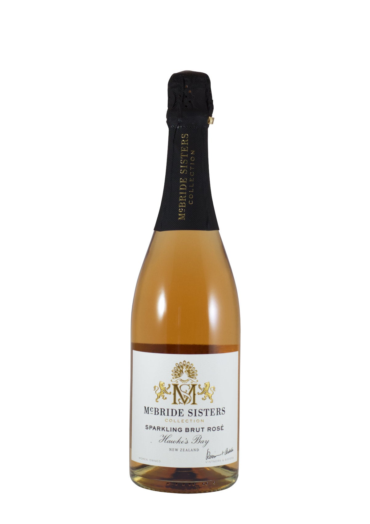 "NV McBride Sisters ""Hawke's Bay"" Sparkling Brut Rose (Marlborough, NZ)"