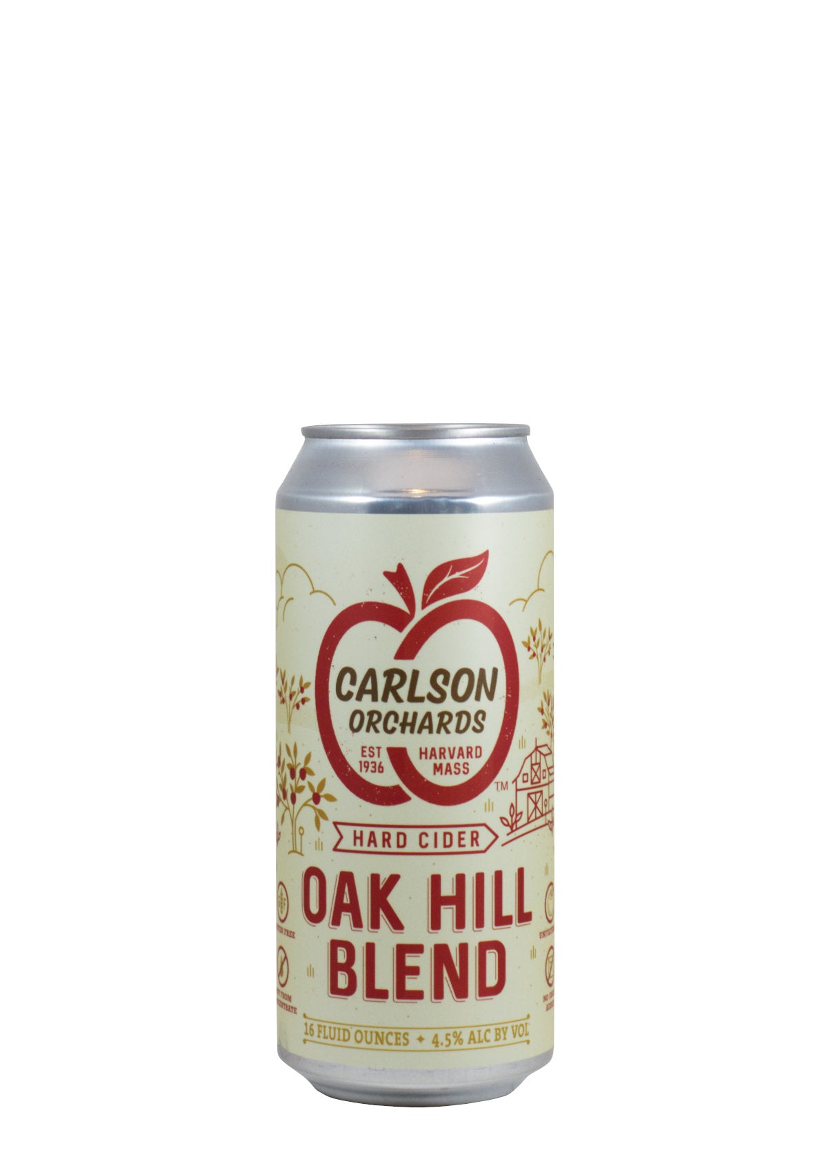 Carlson Orchards Oak Hill Blend Cider (Harvard, MA)