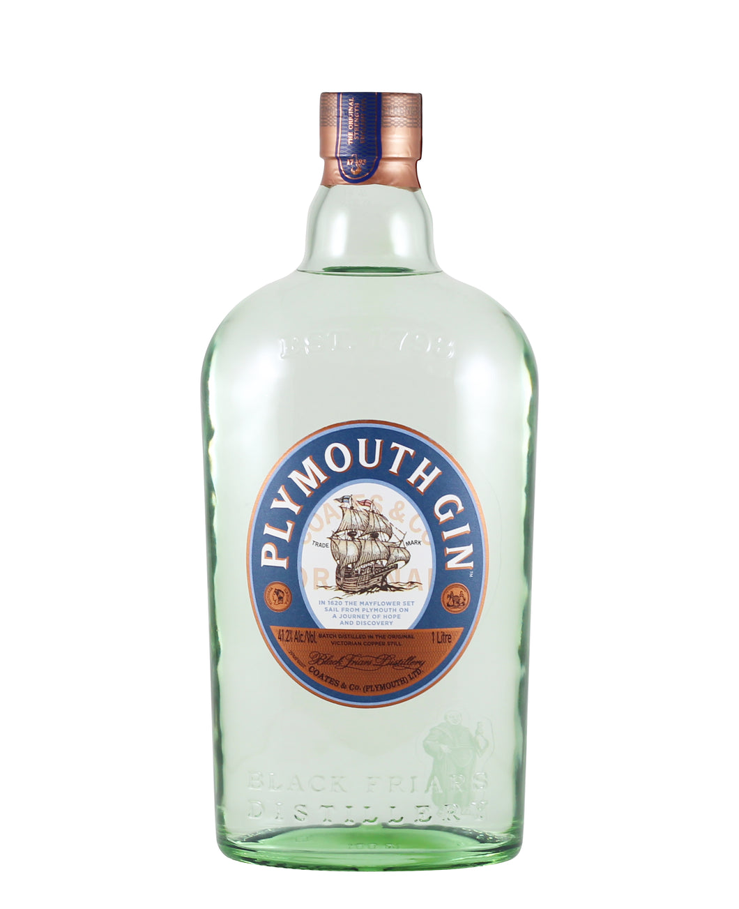 Plymouth English Gin Liter (England)
