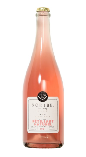 2019 Scribe Winery Rose of Pinot Noir Petillant Naturel (Sonoma Coast, CA)