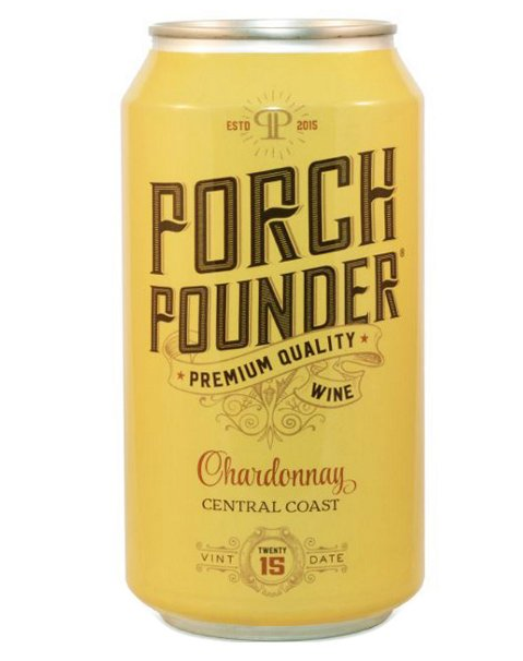 *W* 2017 Porch Pounder Chardonnay CAN (Central Coast, CA)