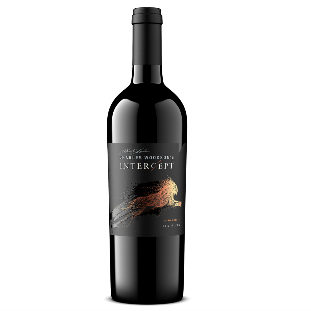 "*8R* 2017 Charles Woodson's ""Intercept"" Red Blend (Paso Robles, CA)"