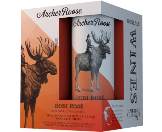 "Archer Roose ""Rodi Rose"" Skin Contact Wine Can (Greece)"