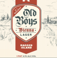 "Ragged Island Brewing Co ""Old Boys"" Vienna Style Lager (Norwood, MA)"