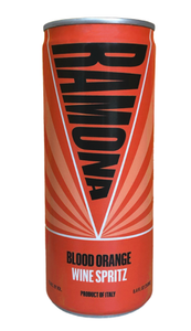 Ramona Blood Orange Artisanal Wine Cooler Can (Italy)