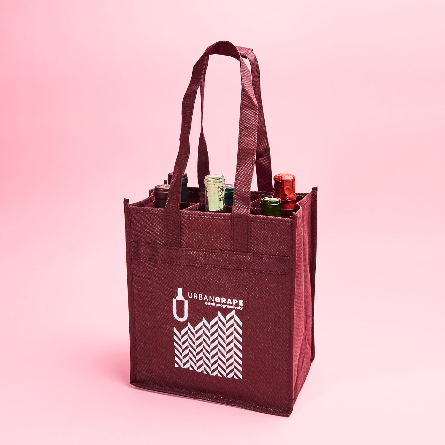 Urban Grape Reusable 6 Bottle Bag