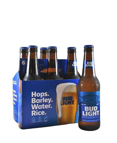 Bud Light- 6pk Bottles