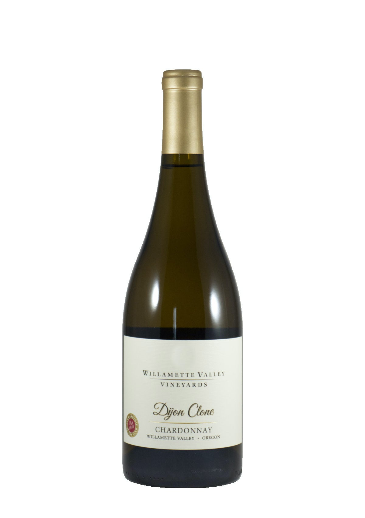 "*7W* 2017 Willamette Valley Vineyards ""Dijon Clone"" Chardonnay (Willamette Valley, OR)"