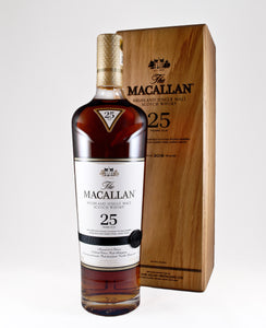 Macallan 25 Year Sherry Oak Scotch  (Scotland)