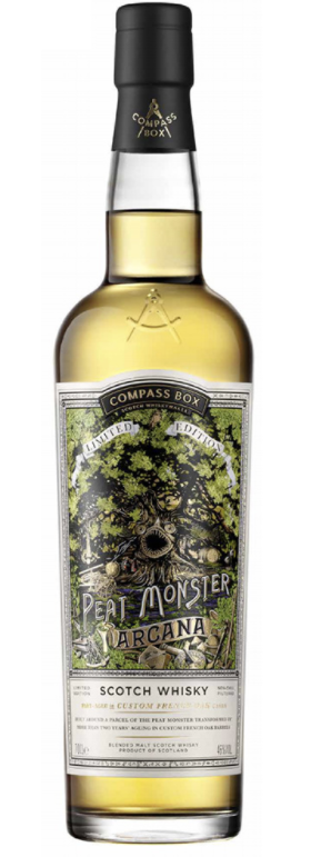 "Compass Box ""Peat Monster - Arcana"" Scotch Whiskey (Scotland)"
