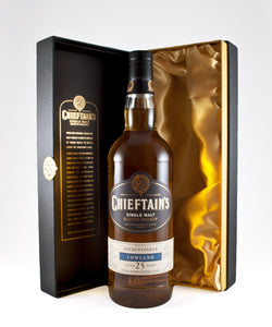 "Chieftain's ""Auchentoshan"" 25yo Single Malt Scotch (Lowland, Scotland)"