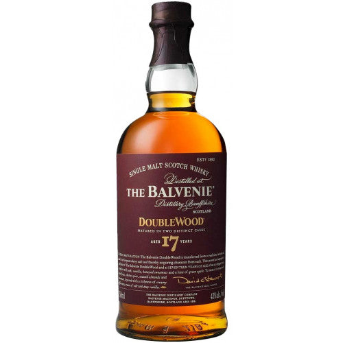 Balvenie 'Doublewood' 17 Year Single Malt Scotch Whisky