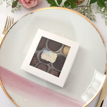 Load image into Gallery viewer, CLEARANCE Mini Rose Gold Foil Eid Mubarak Vintage Frame Stickers