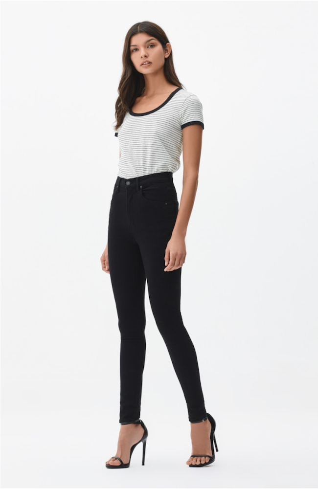 Citizens | Chrissy Uber High Rise Skinny In All Black