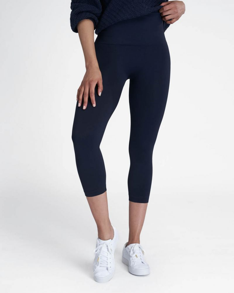 SPANX | Look At Me Now Cropped Seamless Leggings