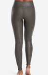 Spanx | Faux Leather Moto Leggings