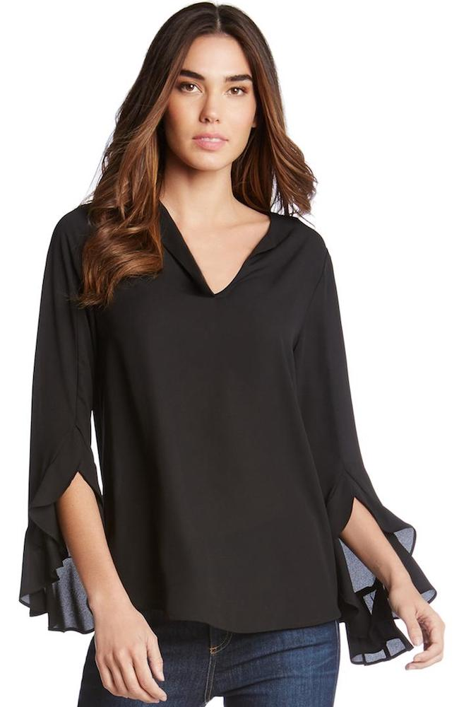 Fifteen Twenty | Ruffle Sleeve Top