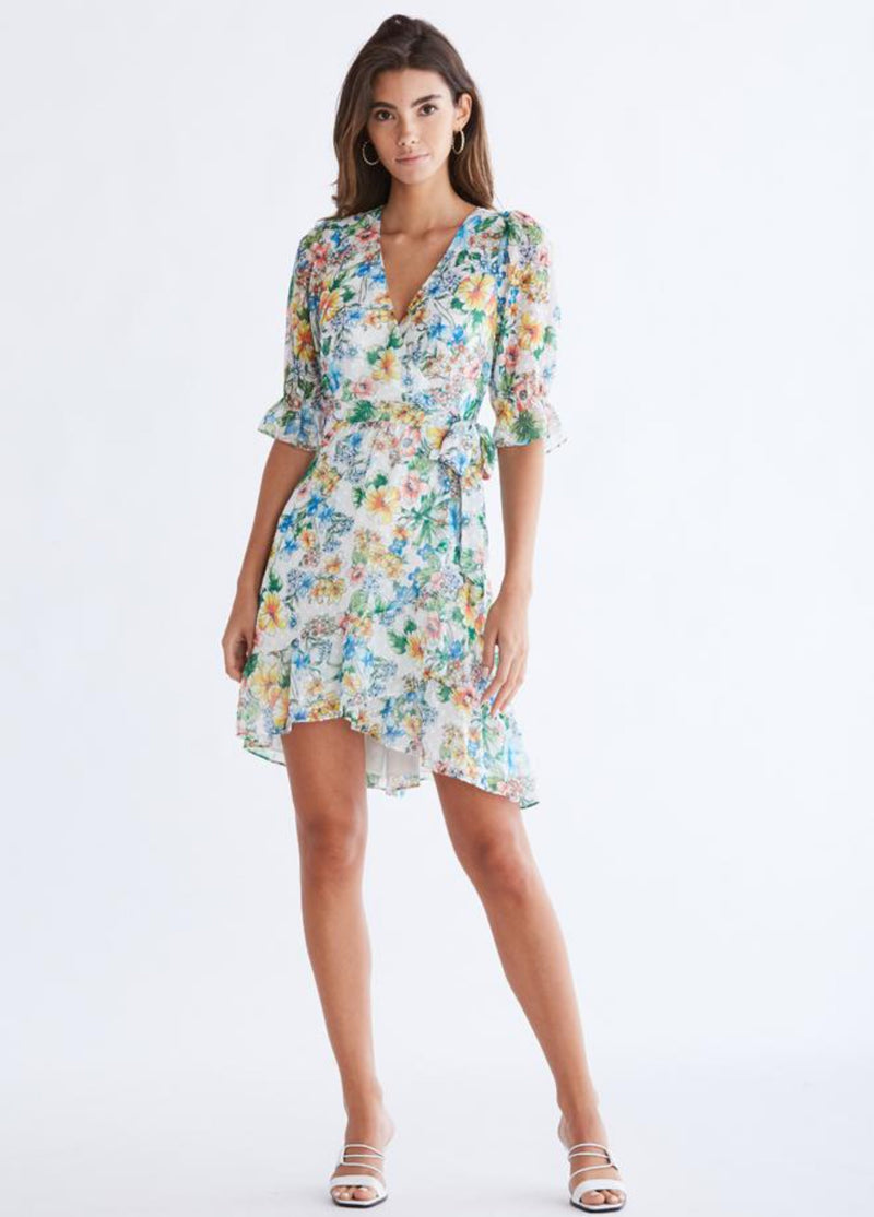 Ali & Jay | Garden Strolls Wrap Dress
