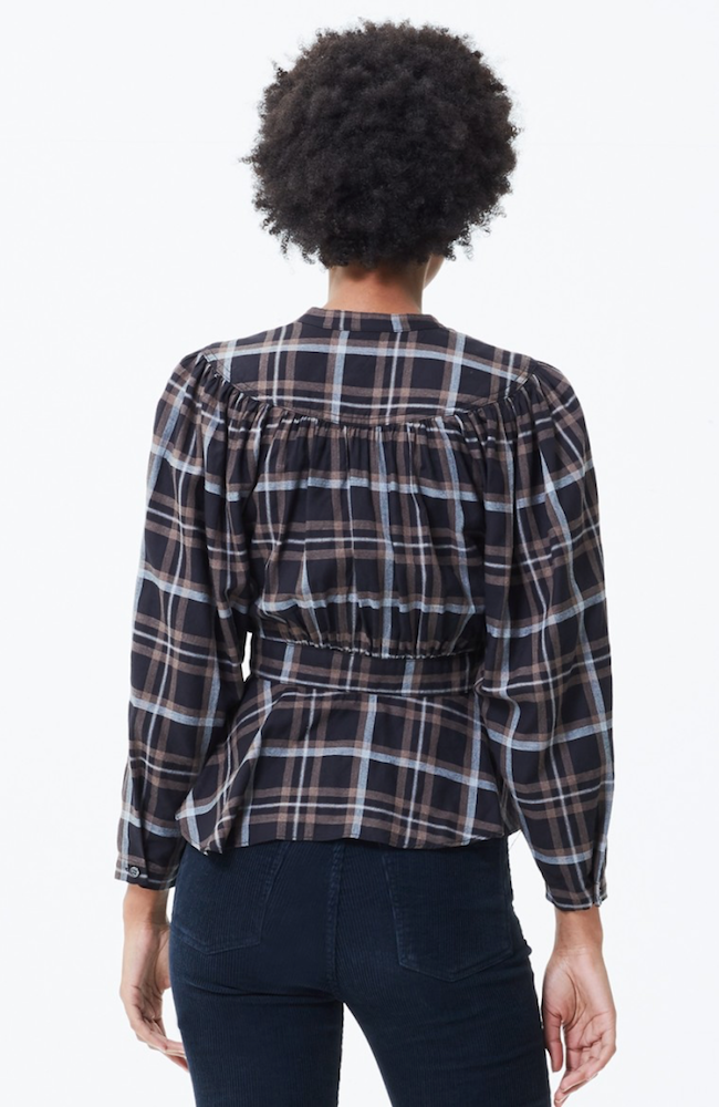 Citizens | Margeaux Blouse in Stockwell Check