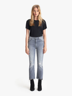 Mother Denim | The Insider Crop Step Fray