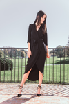 Amanda Uprichard | Provenance Faux-Wrap Midi Dress