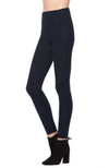 David Lerner | Elliot Micro Suede Legging in Black