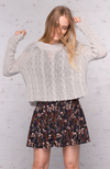 Wooden Ships | Crop Jax Cable Knit