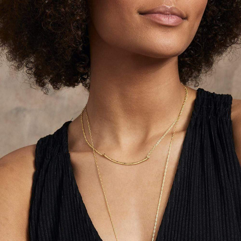 Gorjana | Taner Bar Small Necklace