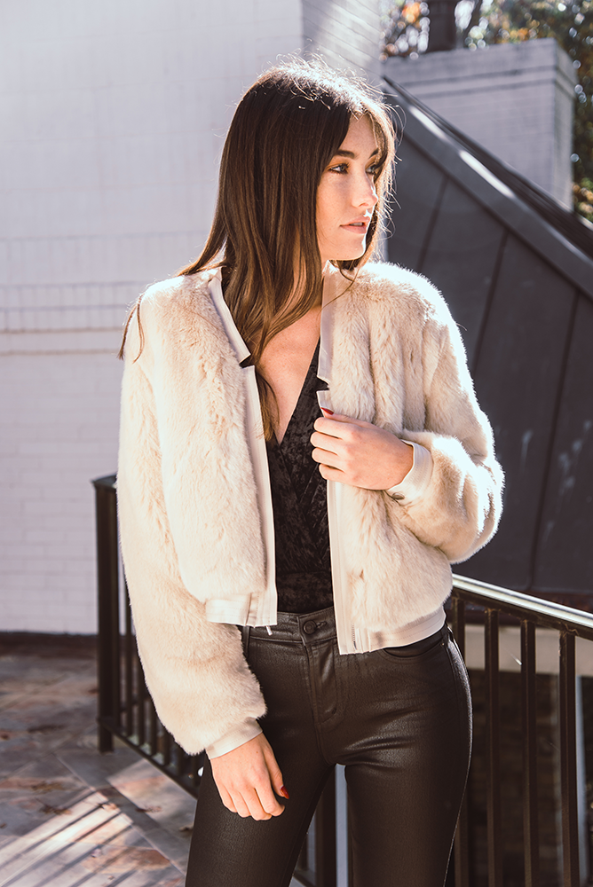 J Brand | Ashbey Faux Fur Jacket