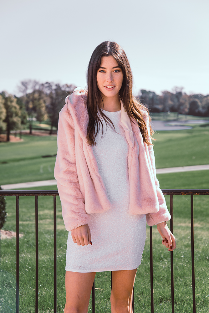 Lavender Brown | Furry Jacket