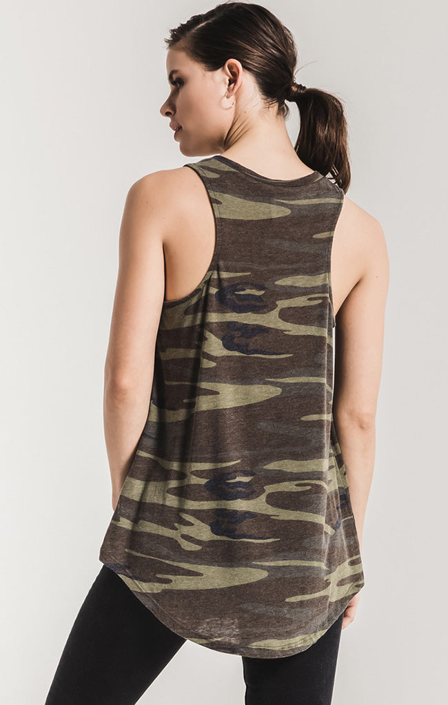 Z Supply | Camo Pocket Racer Tank