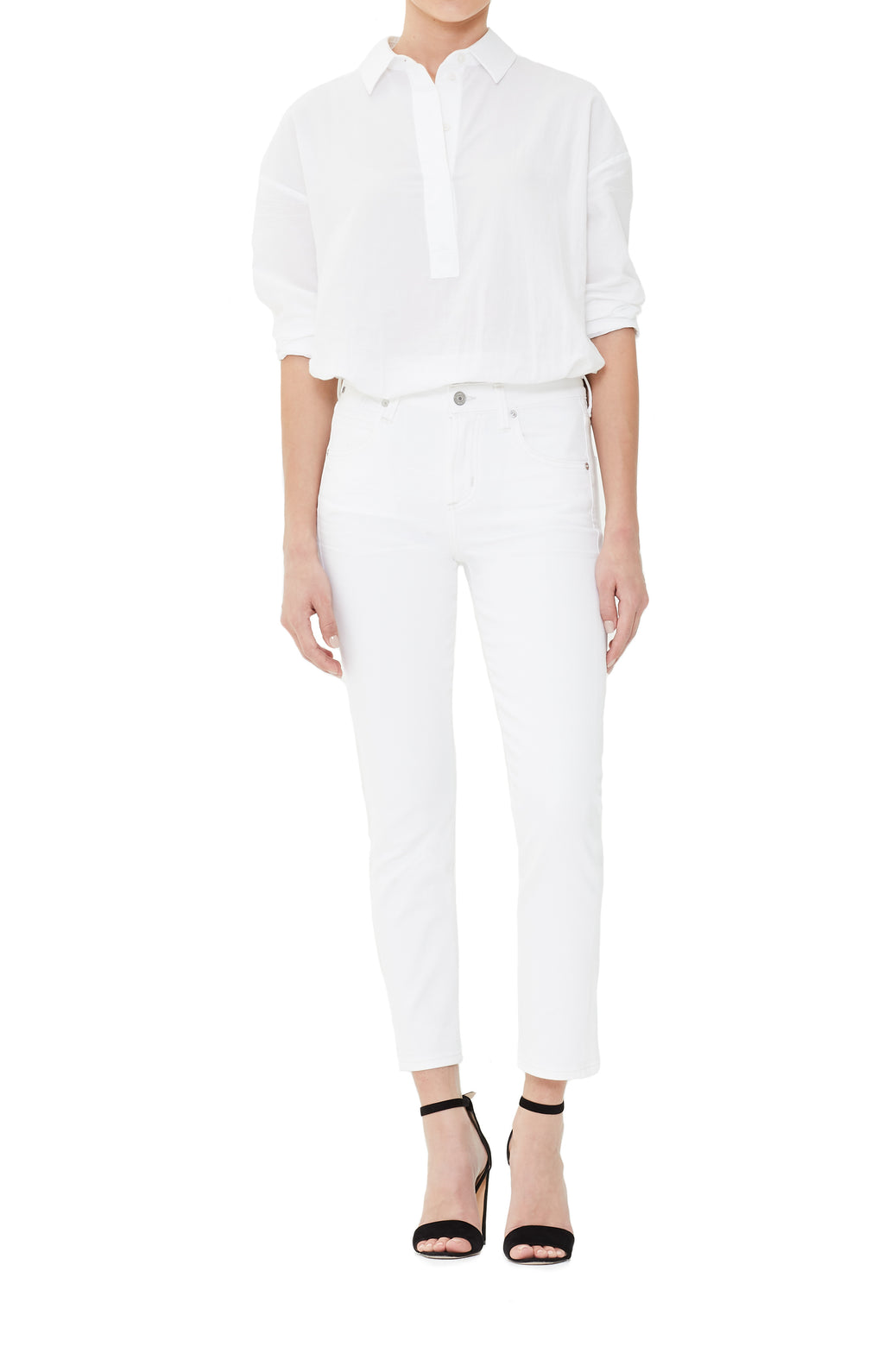 Citizens of Humanity | Elsa Mid Rise Slim fit Crop