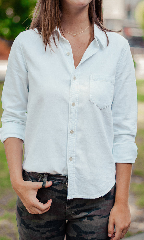 Citizens of Humanity | Sofia Slim Classic Shirt