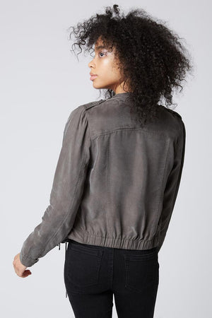 Blank NYC | Suede Moto Jkt
