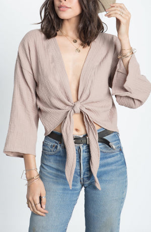 Stillwater | The Breezy Wrap Top